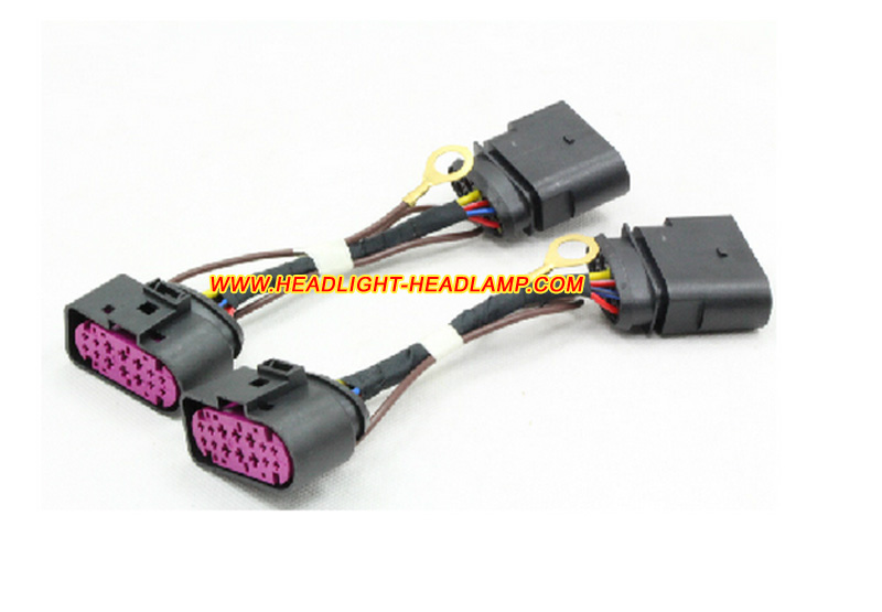 audi a3 standard halogen light upgrade to xenon headlight. Black Bedroom Furniture Sets. Home Design Ideas