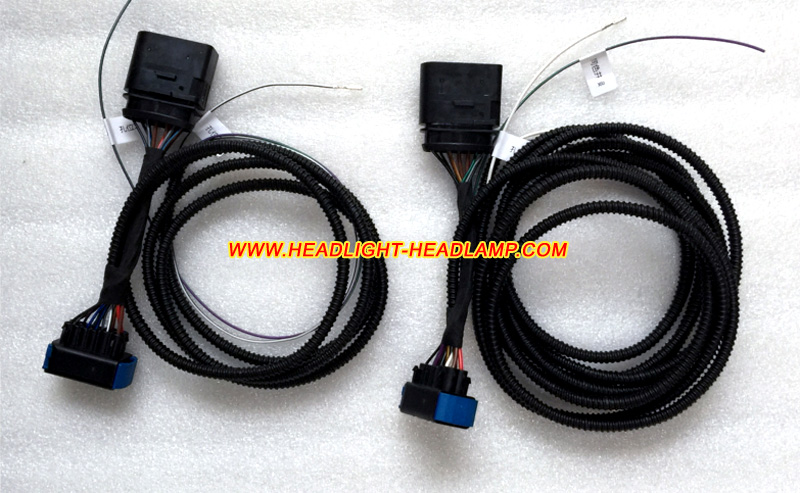 Audi A6 Standard Halogen Xenon Headllamp Upgrade To Full Matrix Headlight Adapter Harness Wires