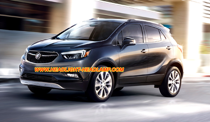 Buick Encore Halogen Standard Headlight Taillight Upgrade