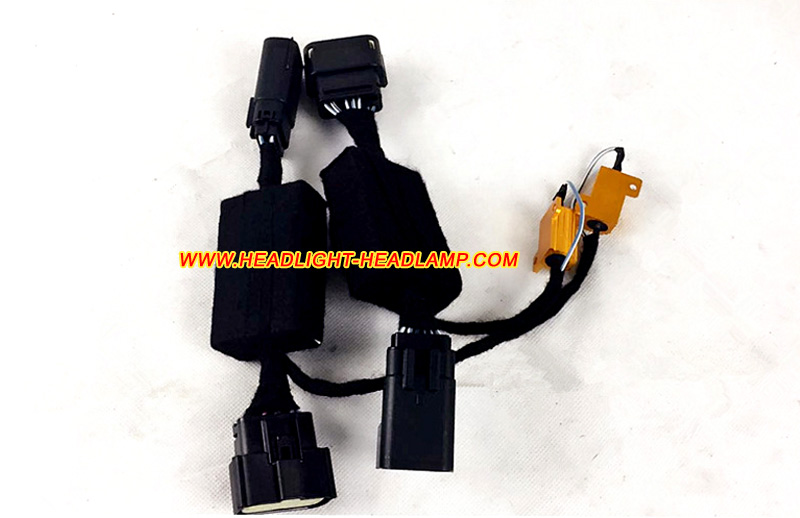 Buick LaCrosse Halogen upgrade to Full LED headlight Adaptor Harness Wires Calbe buick lacrosse wiring harness buick schematics and wiring diagrams cbj1k072aa door wiring harness package at gsmportal.co