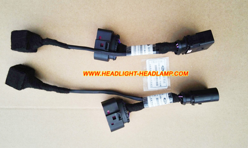 Cadillac ATS Halogen Standard Normal Headlight Replace Upgrade To Full LED  Headlamp Adapter Harness Wires Cableheadlight-headlamp.com