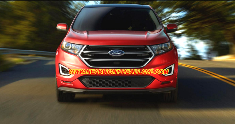 Ford Edge Standard Normal Halogen Headlight Retrofit Upgrade To Hid Bi Xenon