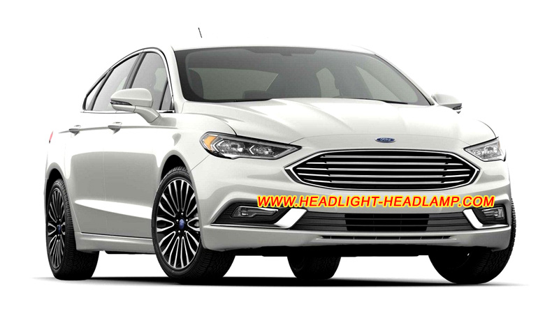 ford mondeo fusion halogen headlamp upgrade replace to