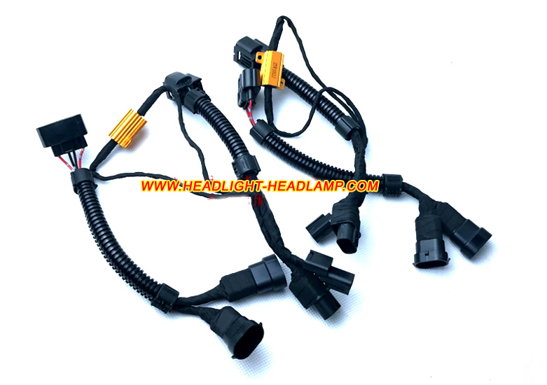 Honda Accord Headlight Wiring Harness : Honda accord gen halogen standard headlamp replace to