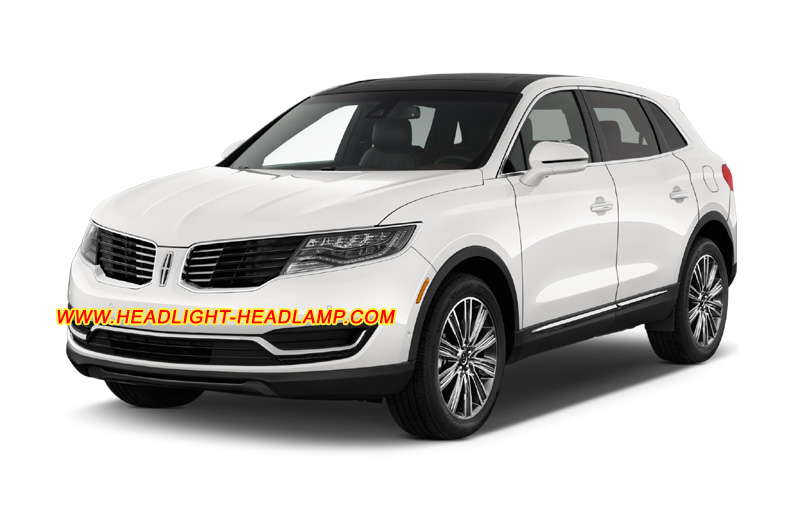 lincoln mkx halogen xenon headlight replace upgrade to