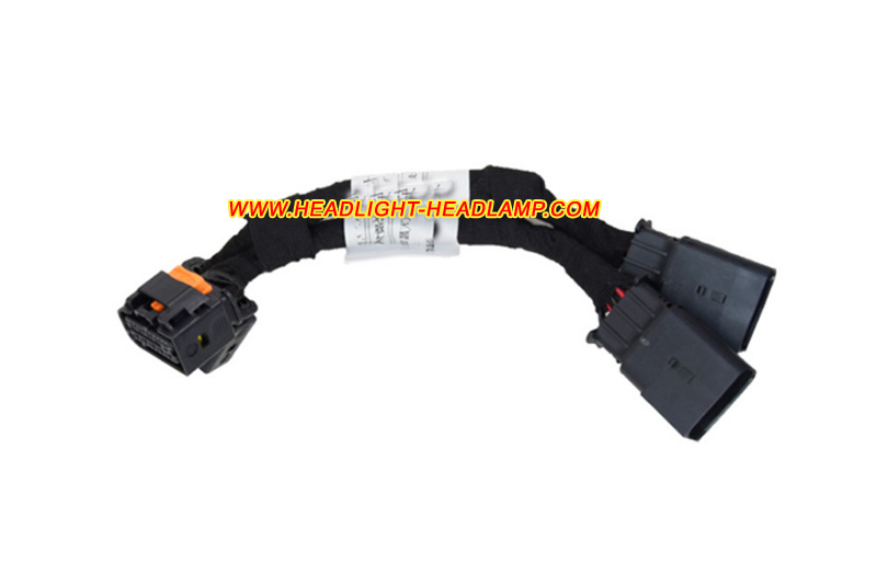 Renault Kadjar Halogen Headlight Replace To Full Led Headlamp Assembly Adapter Harness Cable