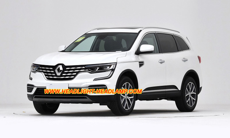 Renault Koleos Halogen Normal Headlight Replace To Led