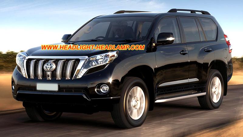 Toyota Land Cruiser Prado J150 Facelift Halogen Standard