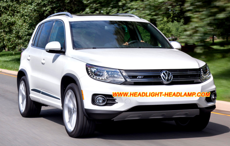 Vw Volkswagen Tiguan Halogen Normal Standard Headlamp
