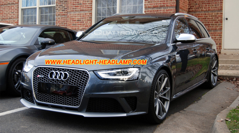 audi a4 b8 headlight lens cover scratched plastic lenses. Black Bedroom Furniture Sets. Home Design Ideas