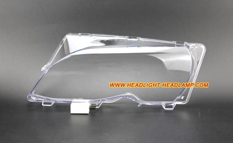 New Headlight Lens Lamp Cover Trim for BMW 3-Series E46 Coupe Cabrio M3 328ci