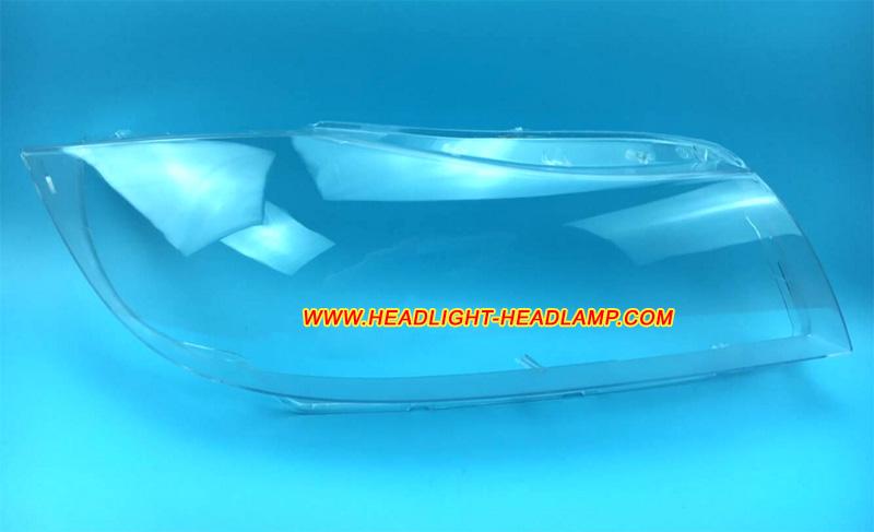 E91 Xenon Front Headlight Headlamp Lens Plastic Cover Right Side For BMW 3 E90