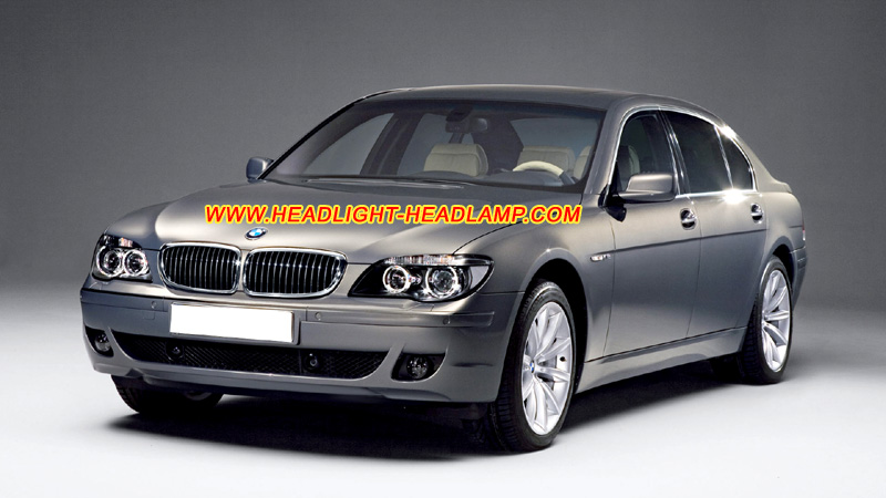 Bmw 7series E66 E65 E67 E68 Headlight Lens Cover Foggy