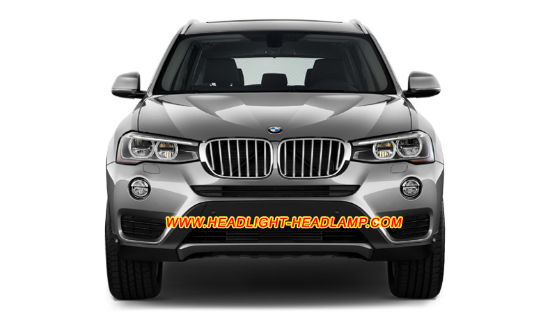 BMW X3 F25 Headlight Lens Cover Crack Scratched Headlamp