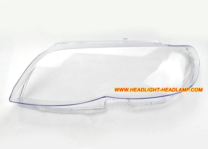 Bmw X5 E53 Headlight Lens Cover Foggy Cracked Headlamp