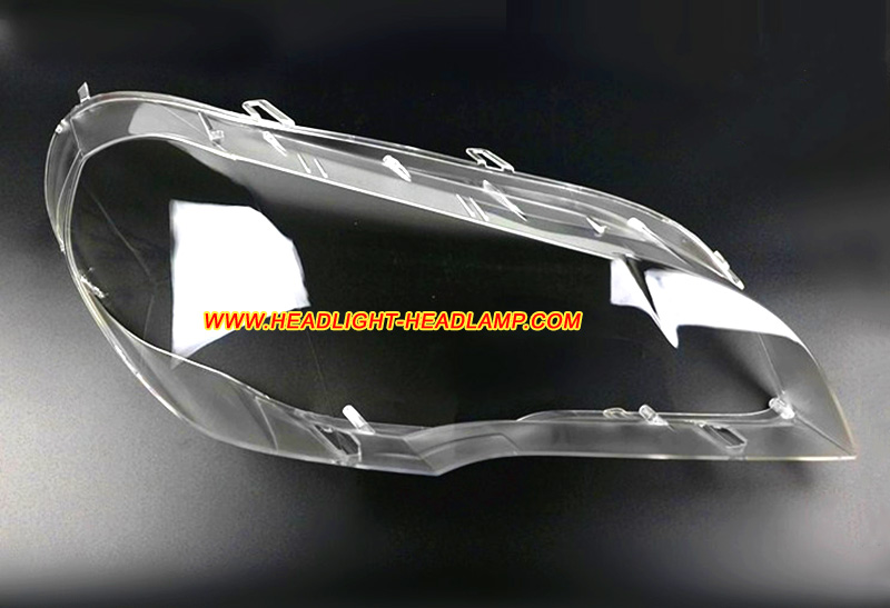 Bmw X5 E70 Headlight Lens Cover Aging Haze Plastic Lenses Covers Glass Shell Replace Cleaning