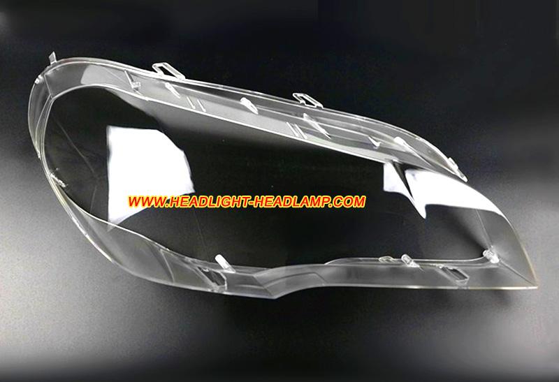 Bmw X5 E70 Headlight Lens Cover Aging Haze Plastic Lenses