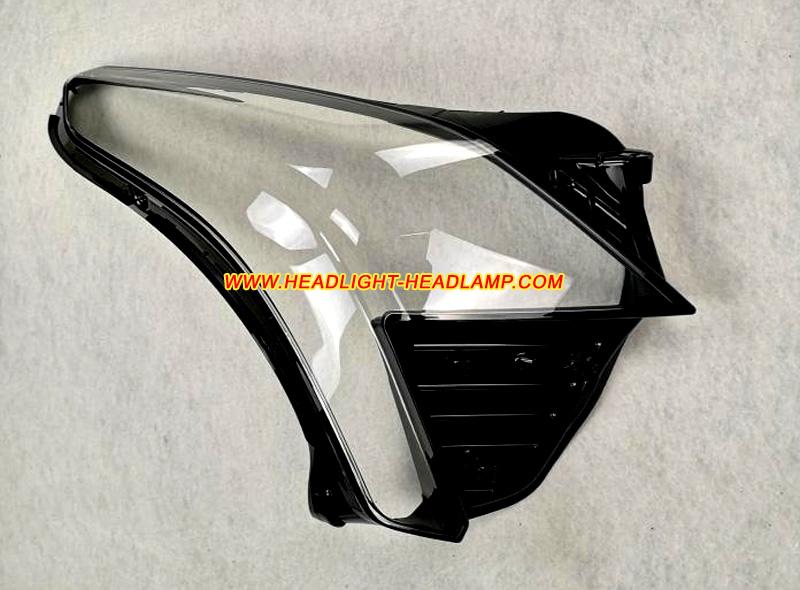 Cadillac Xt5 Headlight Lens Cover Cracked Headlamp Plastic