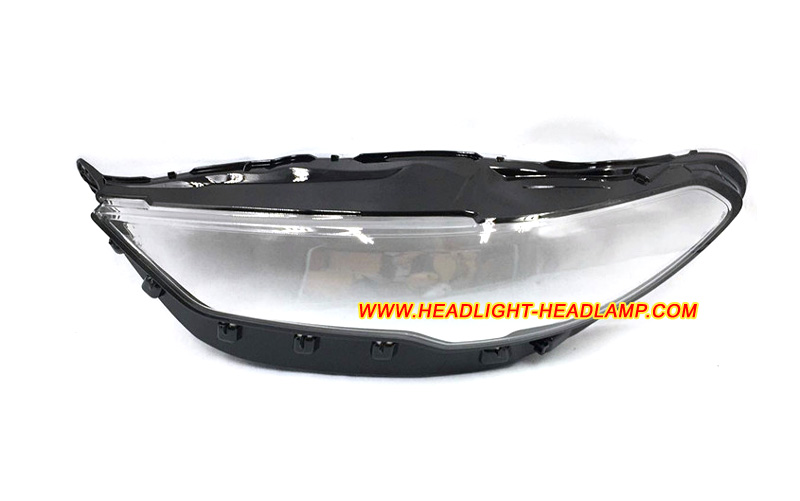 OEM Ford Fusion Left Driver Side Halogen Headlamp Lens Scratches