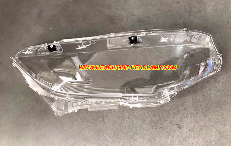 Honda civic gen10 headlight lens cover cracked scratched for Honda civic windshield replacement cost