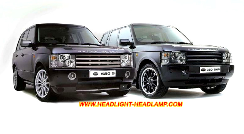 range rover l322 headlight lens covers cracked headlamp. Black Bedroom Furniture Sets. Home Design Ideas