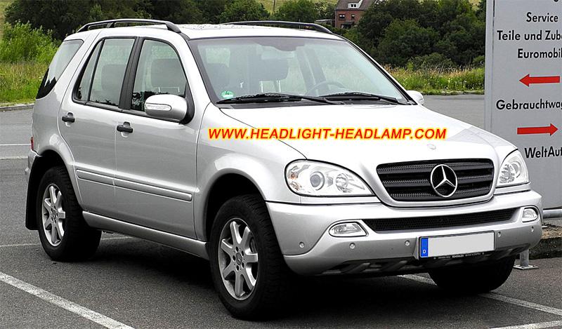 Mercedes benz ml class w163 ml320 ml350 ml430 ml400 ml500 for Mercedes benz headlight problems