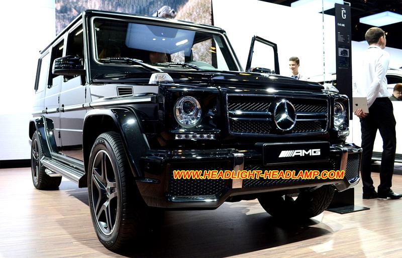 Mercedes benz g class w463 g280 g300 g350 g500 g55 g63 amg for Mercedes benz headlight problems