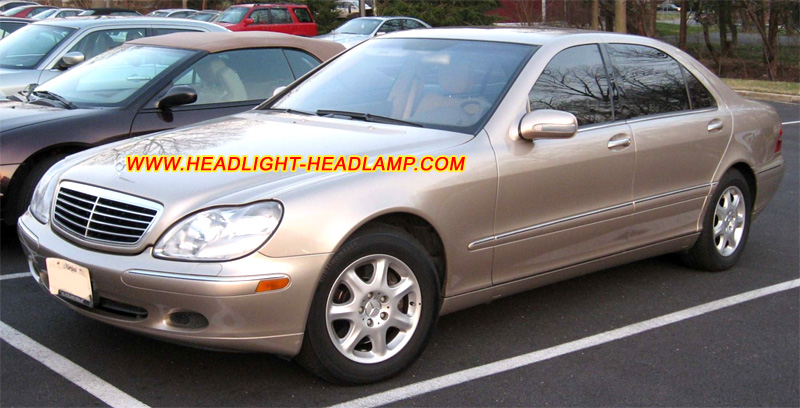 Mercedes benz s class w220 s280 s320 s350 s400 s430 s500 for Mercedes benz headlight problems