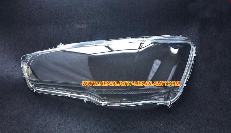 Mitsubishi Outlander Gt Headlight Lens Cover Cracked