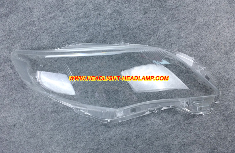 Toyota Corolla Altis E140 Headlight Lens Cover Yellowish
