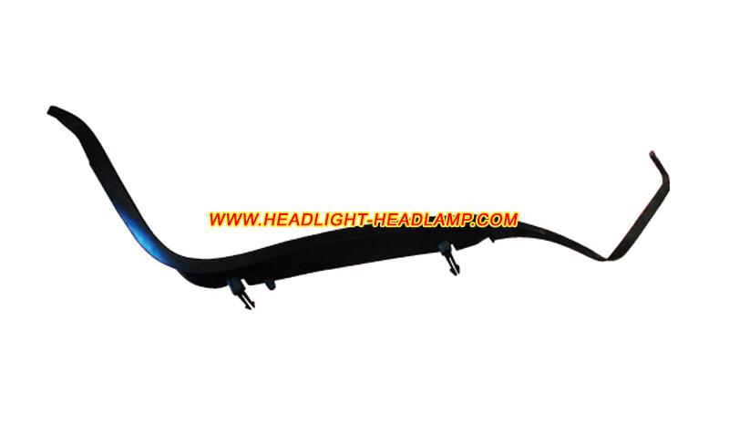 Audi A6 C5 Headlight Lens Cover Aging Foggy Headlamp