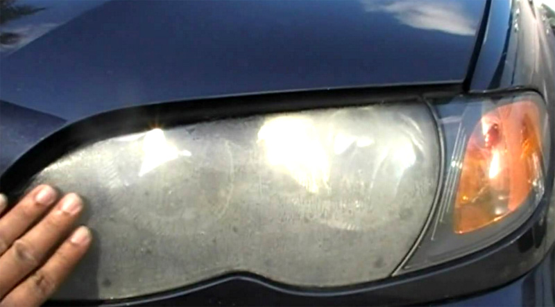 Headlight Lens Cover Plastic Foggy
