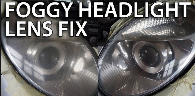 Headlight Lens Cover Plastic Haze