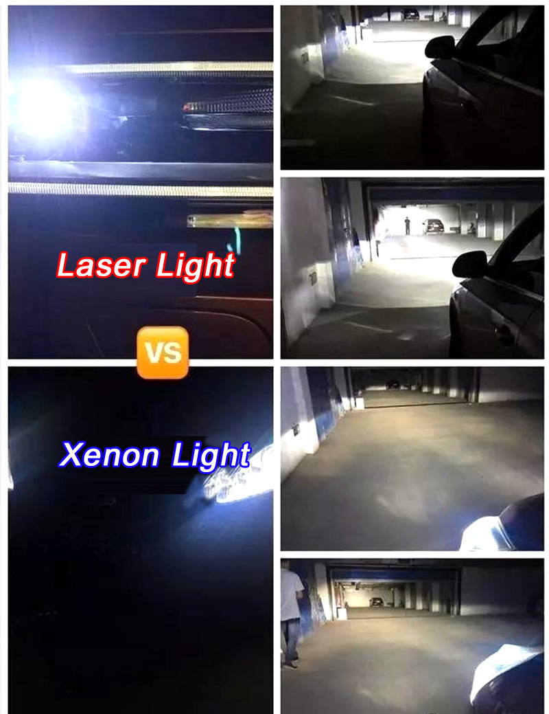 Halogen Light Vs Led >> Headlight Retrofit Upgrades To LED Laser Light Projector ...