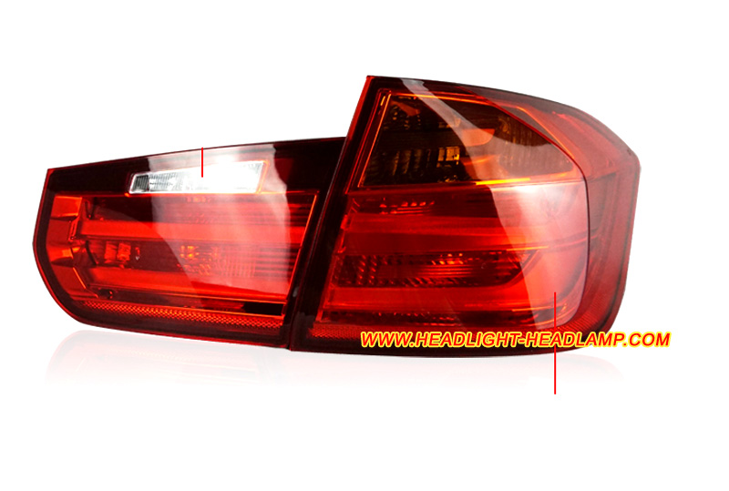 Red Rear Tail Lamp Fix Brake Light Lens Repair Tape for Ferrari